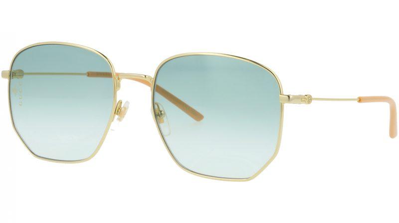 GUCCI GG0396S 002 56 GOLD Sunglasses
