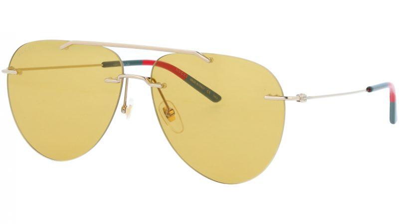 GUCCI GG0397S 005 60 GOLD Sunglasses