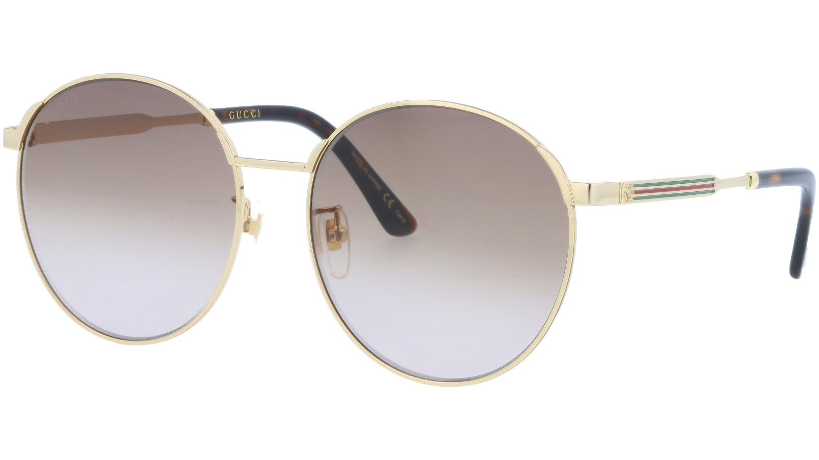 GUCCI GG0206SK 001 58 GOLD Sunglasses