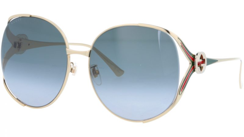 GUCCI GG0225S 001 63 GOLD Sunglasses