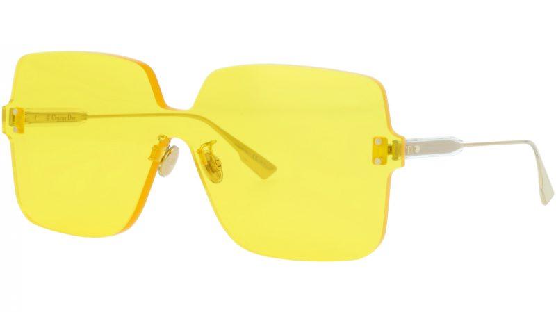 Dior COLORQUAKE1 40GHO 99 Yellow Sunglasses