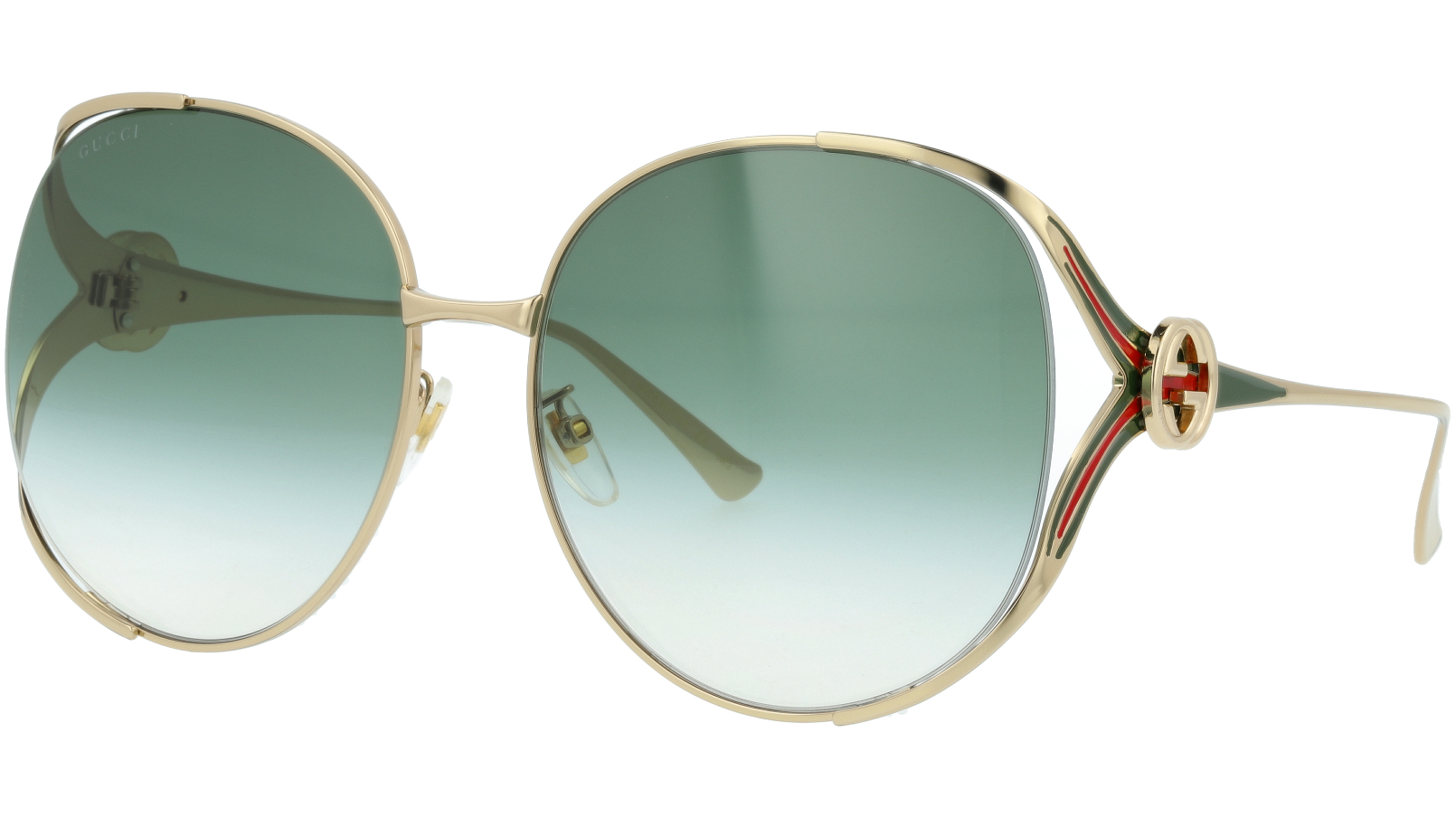 GUCCI GG0225S 005 63 GOLD Sunglasses