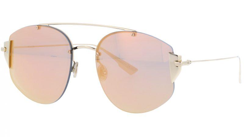 Dior STRONGER J5GSQ 58 Gold Sunglasses