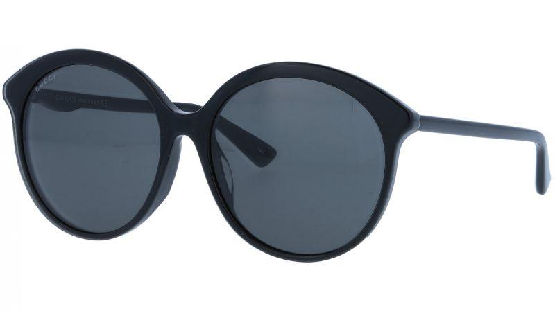 GUCCI GG0257SA 001 59 BLACK Sunglasses