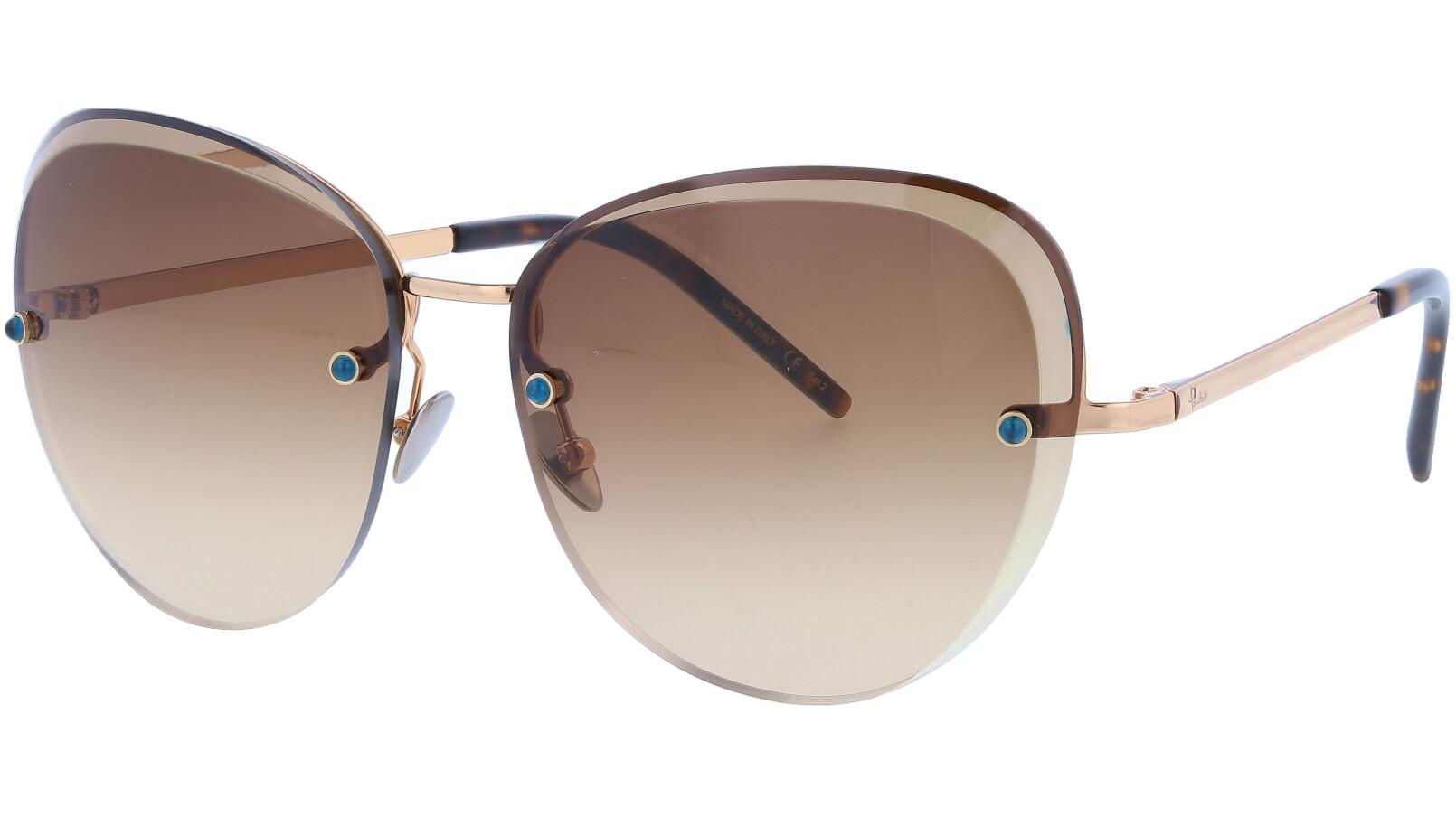 POMELLATO PM0029S 002 60 GOLD Sunglasses