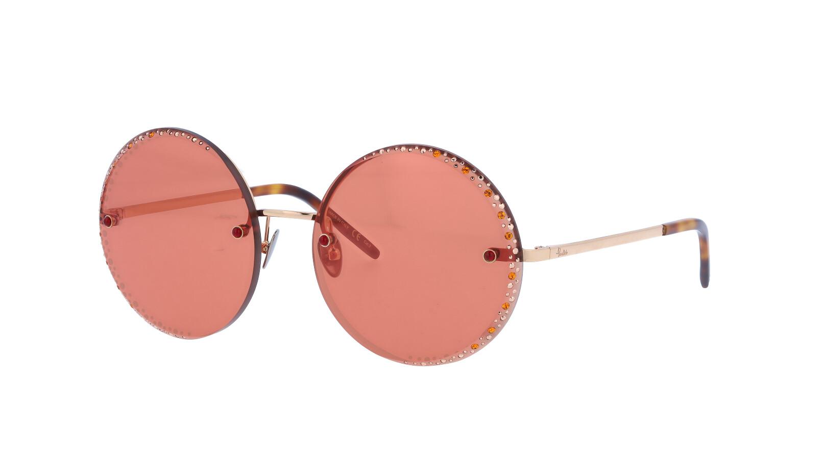 POMELLATO PM0060S 005 58 GOLD Sunglasses