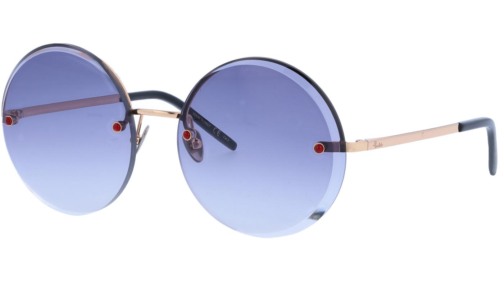 POMELLATO PM0060S 003 58 GOLD Sunglasses