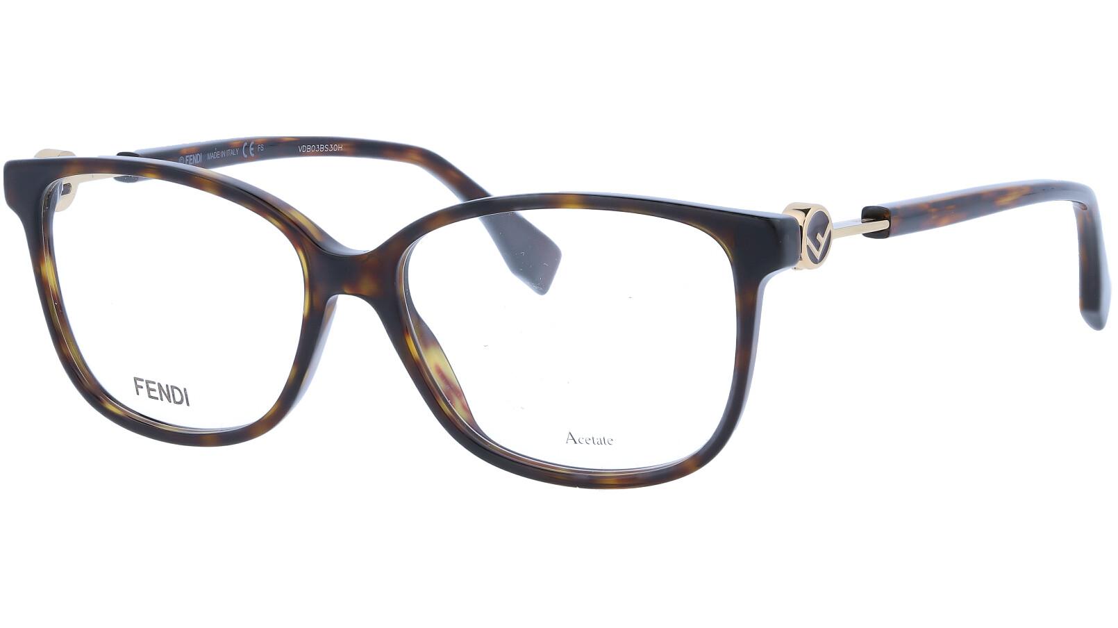 FENDI FF0346 086 53 DARK Glasses