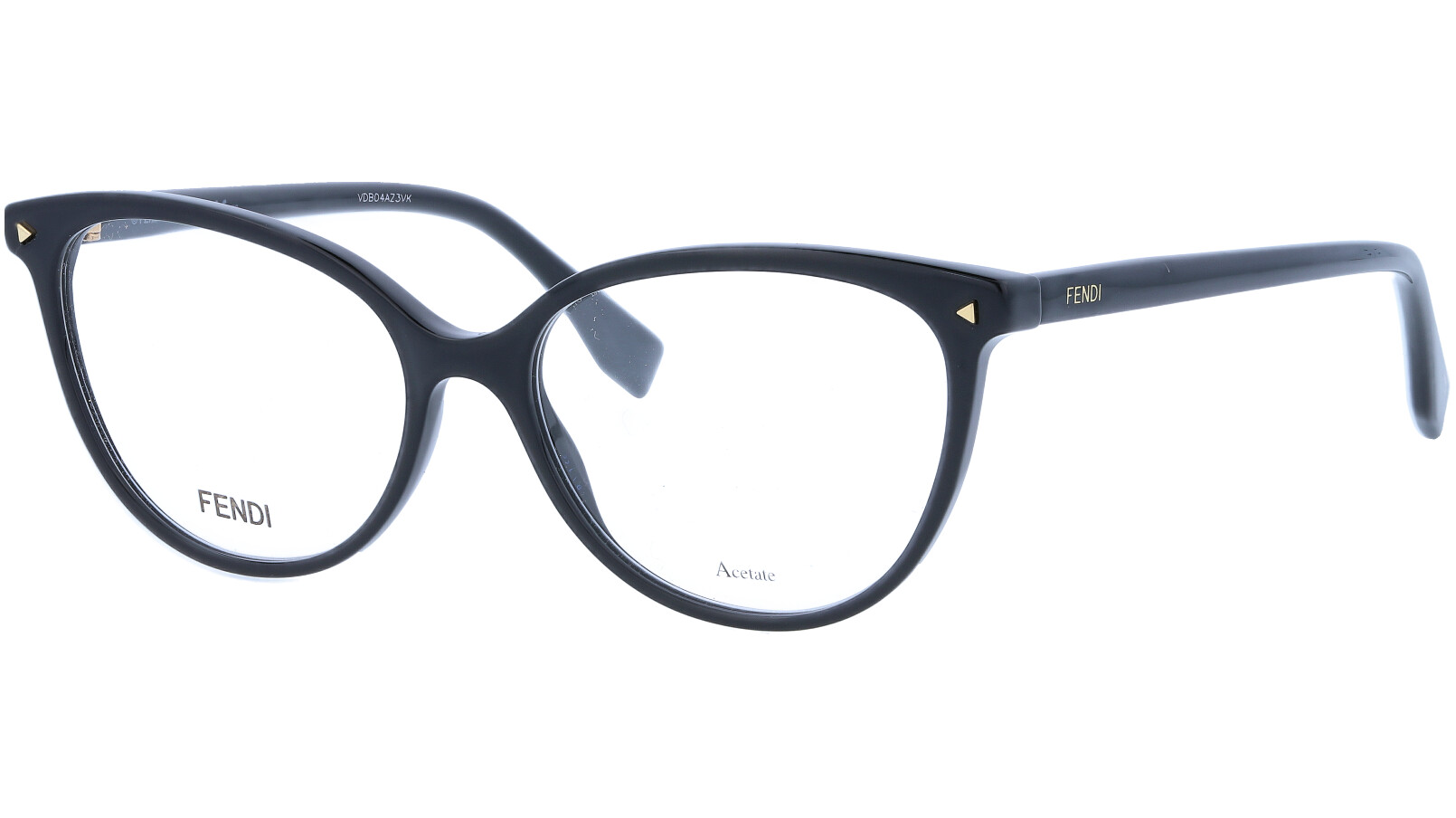 FENDI FF0351 807 53 BLACK Glasses