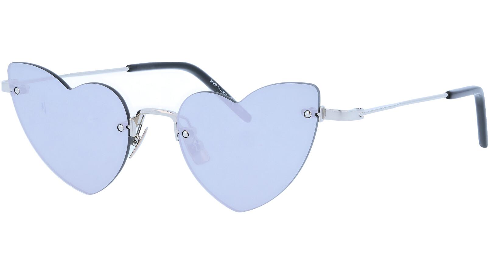 Saint Laurent SL254 LOULOU 002 50 Silver Sunglasses