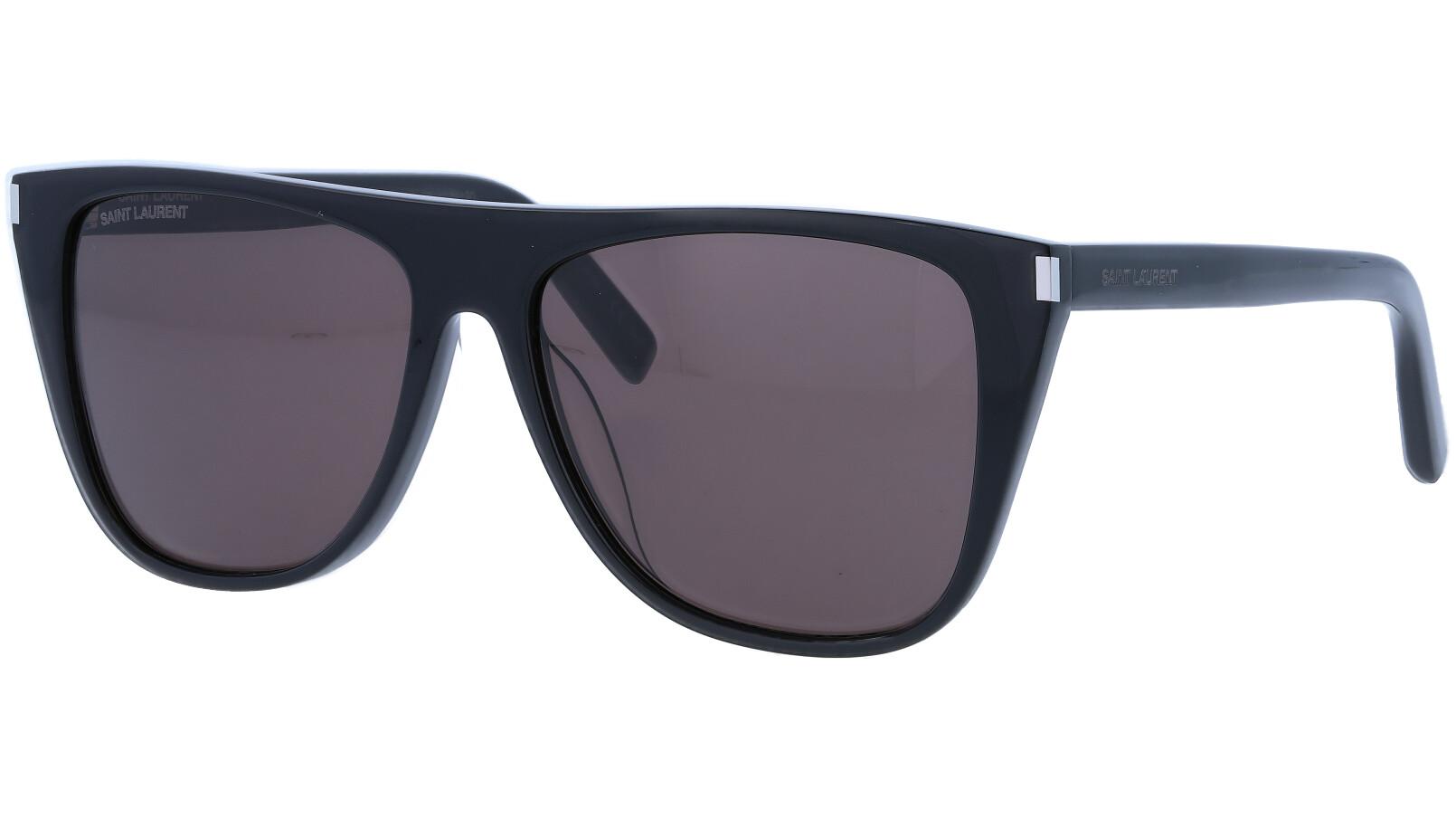 Saint Laurent SL1F 001 58 Black Sunglasses