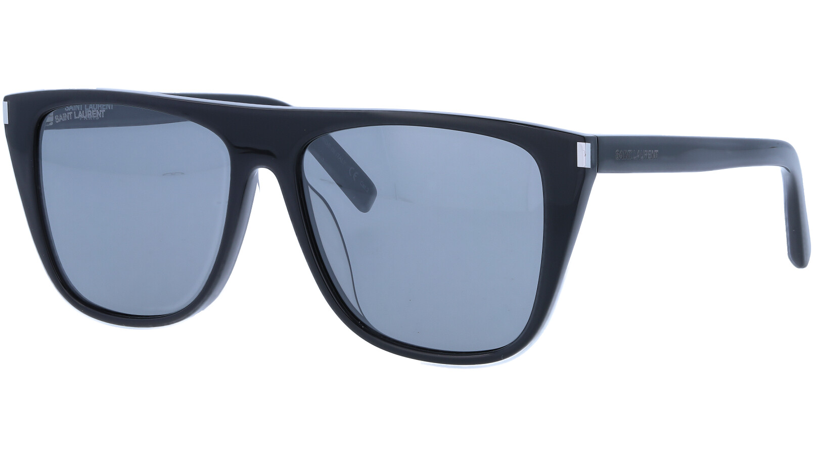 Saint Laurent SL1F 002 58 Black Sunglasses