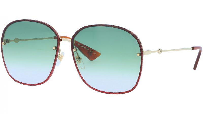 GUCCI GG0228S 001 63 GOLD Sunglasses