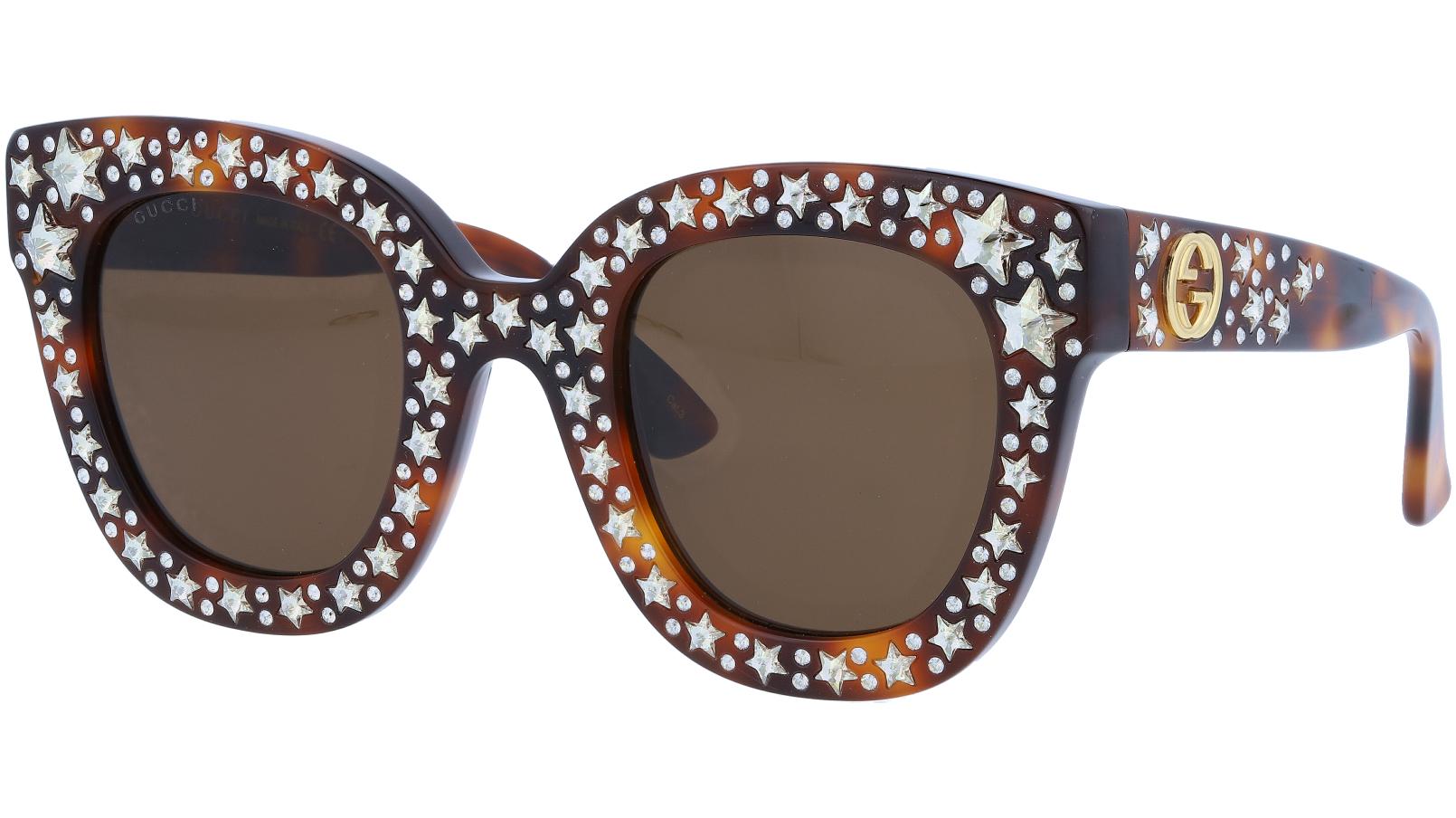 GUCCI GG0116S 003 49 AVANA Sunglasses