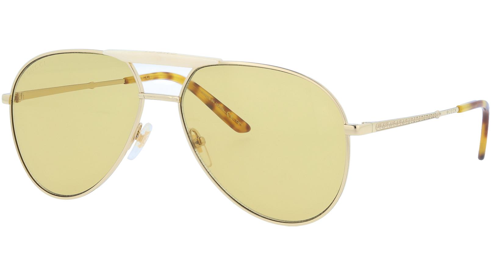 GUCCI GG0242S 004 59 GOLD Sunglasses