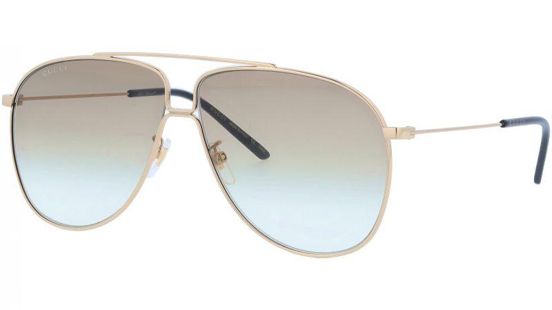 GUCCI GG0440S 007 63 GOLD Sunglasses