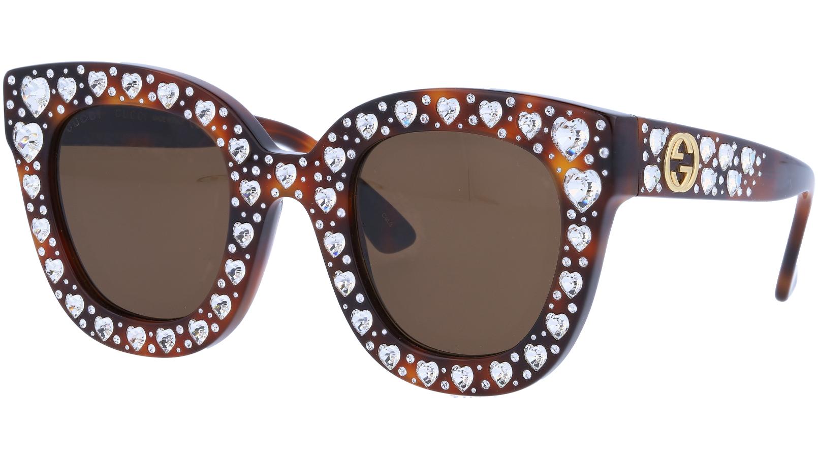 GUCCI GG0116S 006 49 AVANA Sunglasses