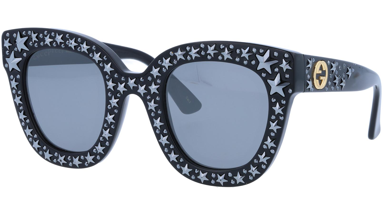 GUCCI GG0116S 002 49 BLACK Sunglasses