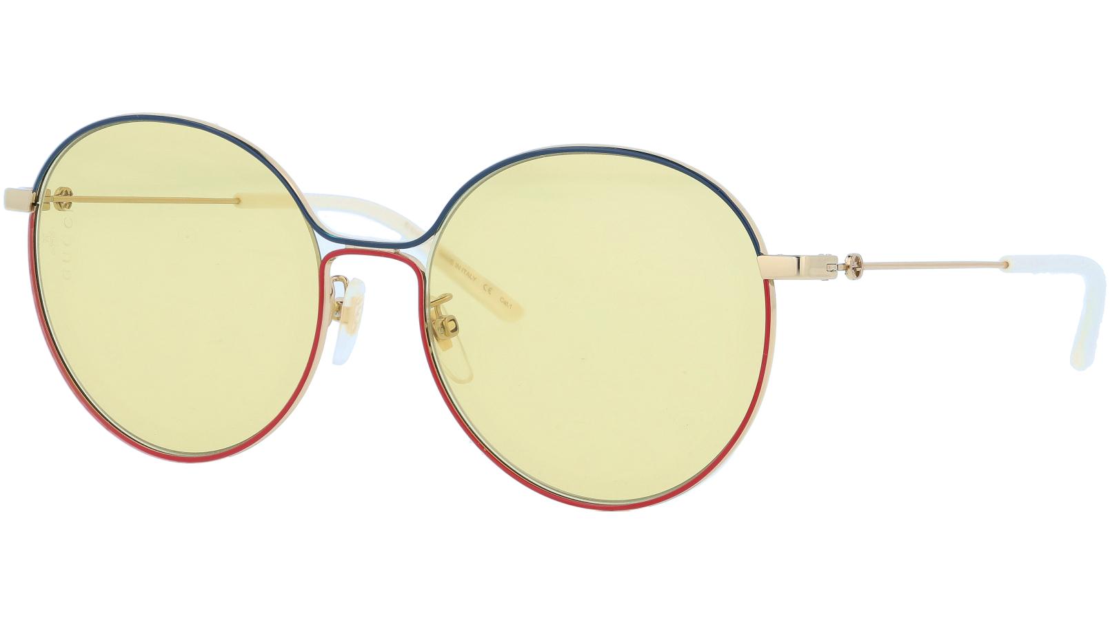 GUCCI GG0395SK 002 56 GOLD Sunglasses