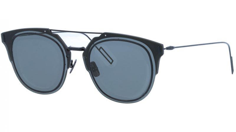 Dior Composit1.F 0062K 65 Black Sunglasses
