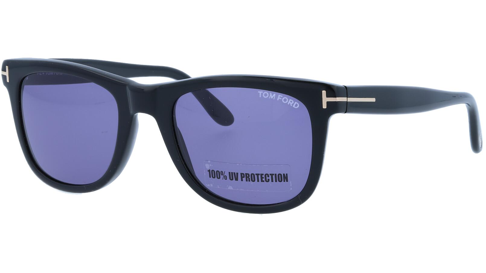 Tom Ford TF336 01V 52 Black Titanium Sunglasses