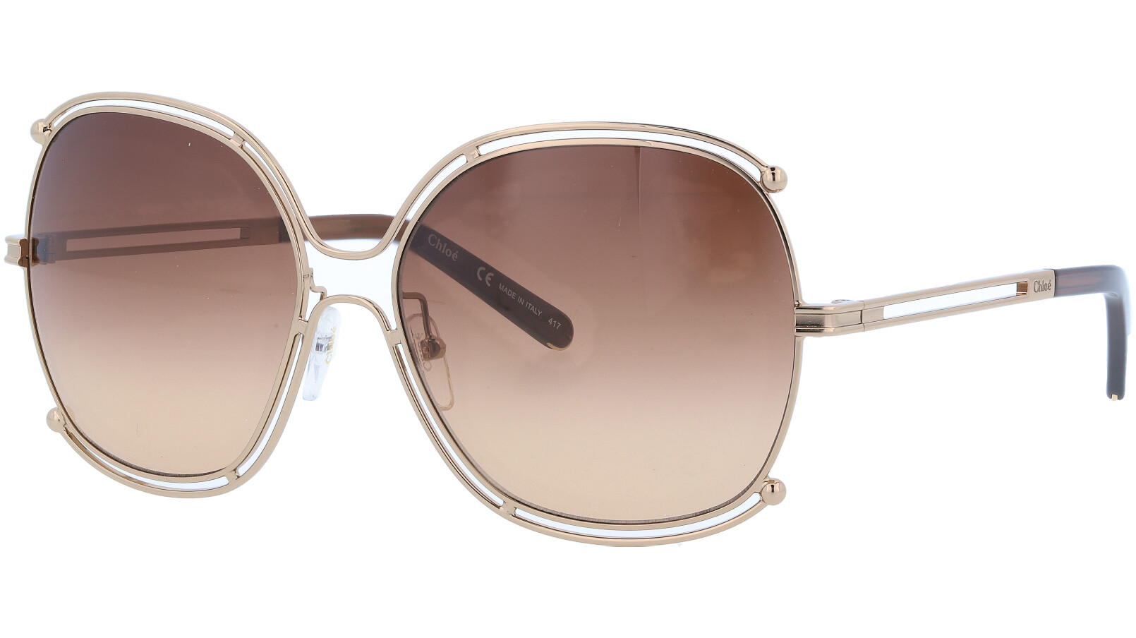 CHLOE CE129S 784 59 Rose Gold Isidora Sunglasses