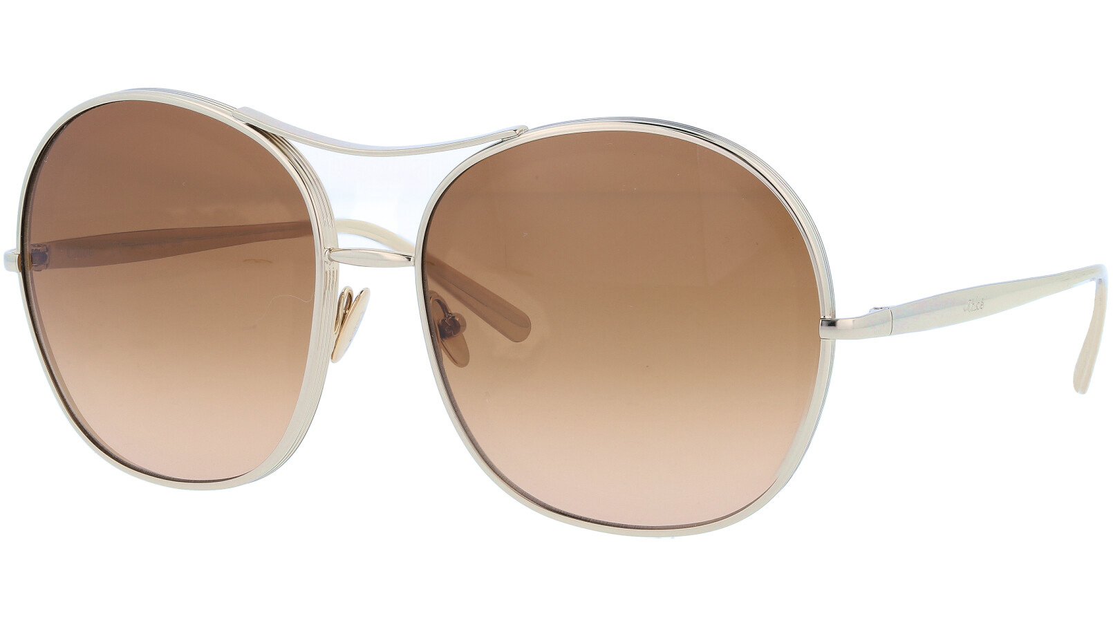 CHLOE CE128S 743 61 GOLD Sunglasses
