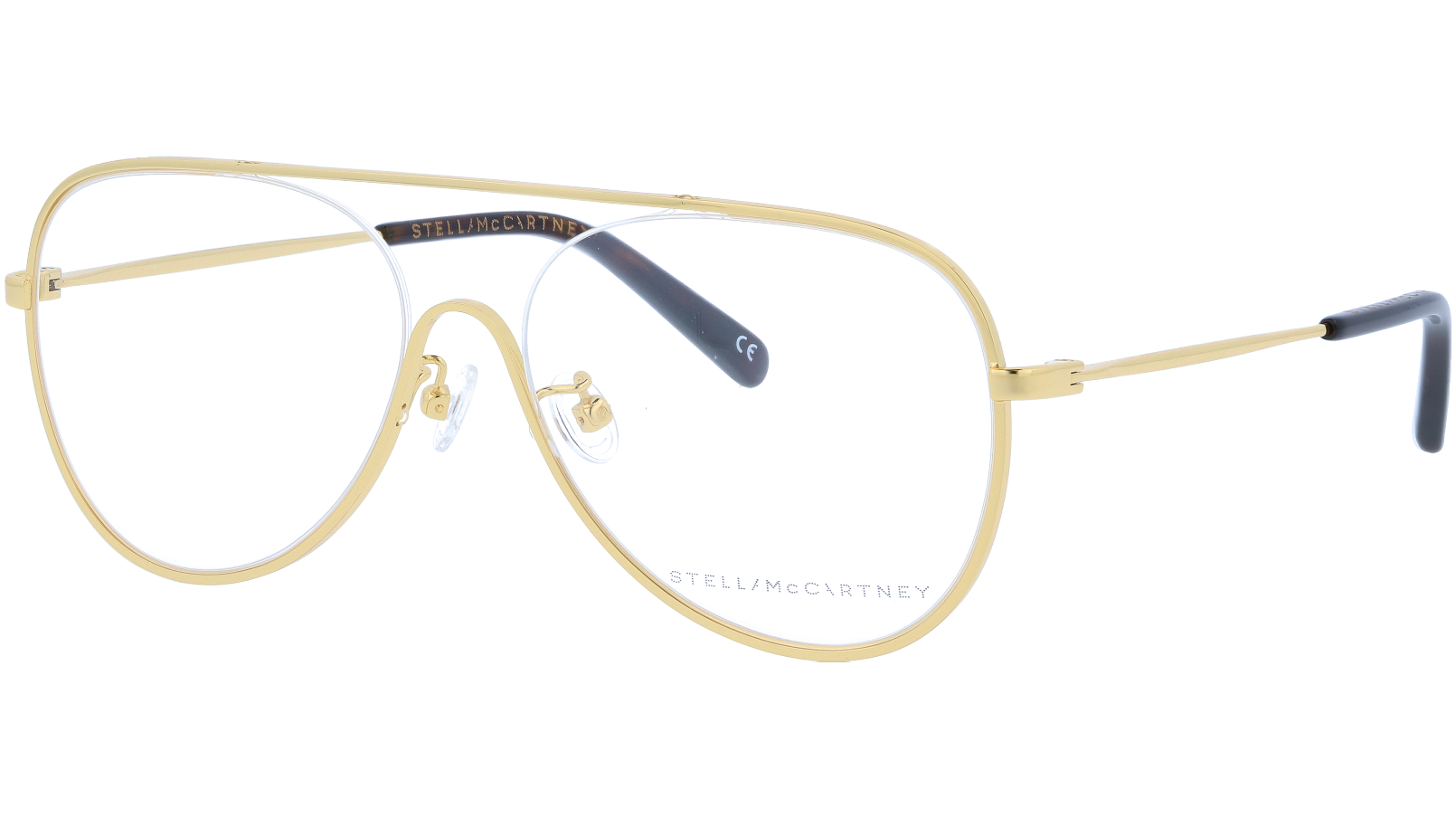 STELLA MCCARTNEY SC0160O 001 55 GOLD Glasses