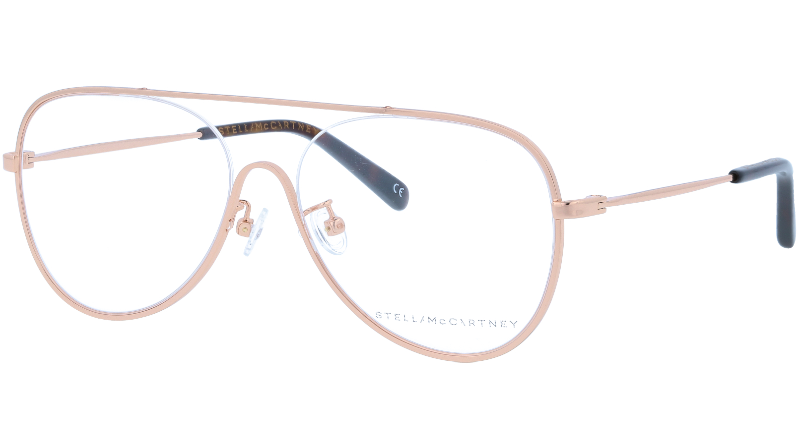 STELLA MCCARTNEY SC0160O 002 55 GOLD Glasses