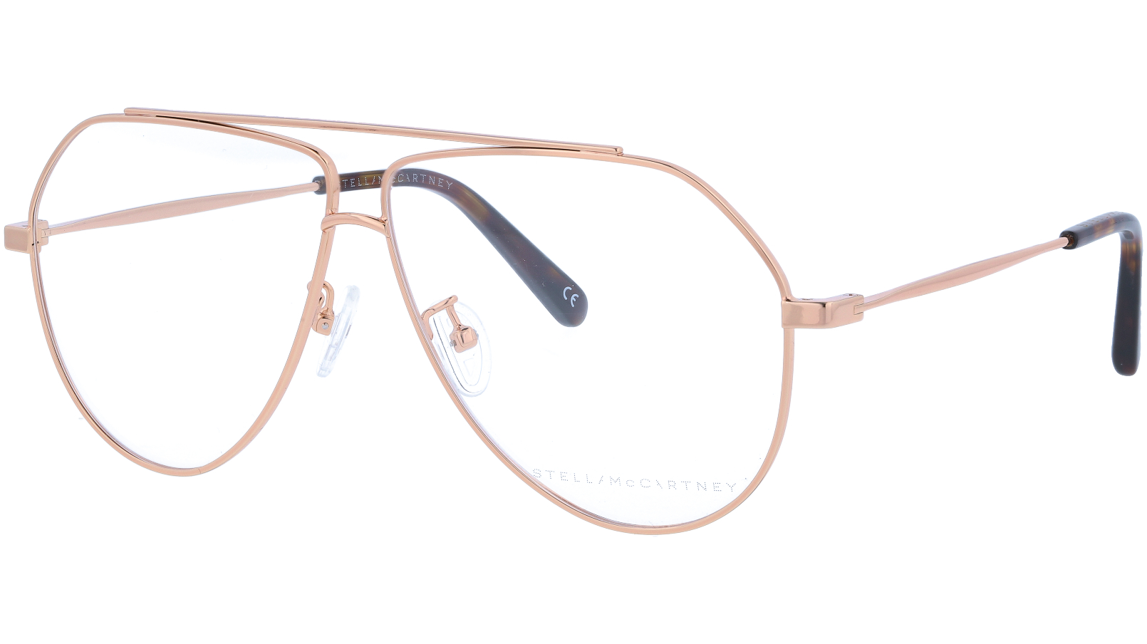 STELLA MCCARTNEY SC0063O 001 60 GOLD Glasses
