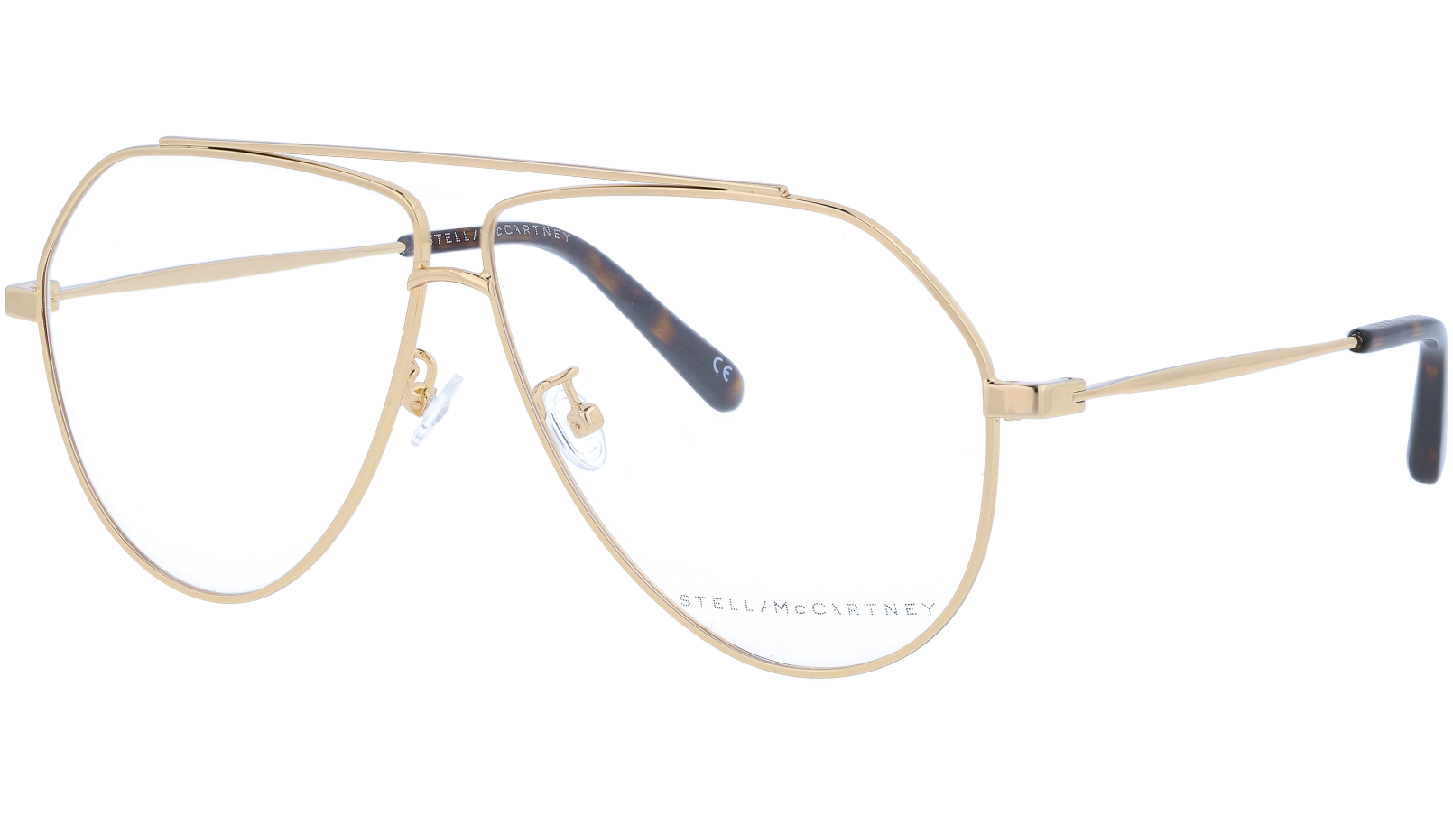 STELLA MCCARTNEY SC0063O 003 60 GOLD Glasses