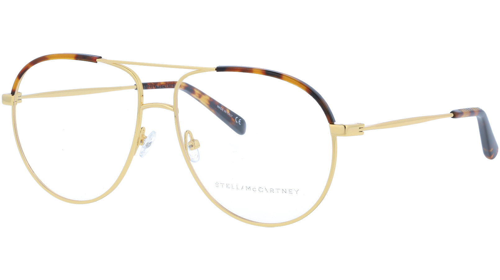 STELLA MCCARTNEY SC0125O 002 57 GOLD Glasses