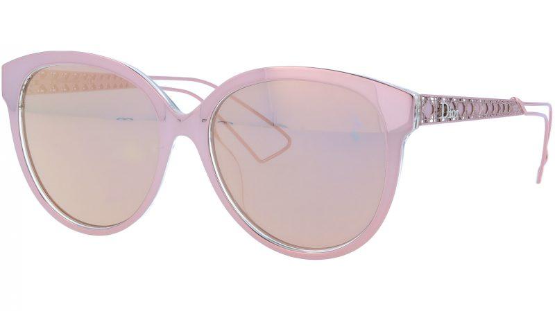 Dior AMA2 TGW0J 56 Pink Sunglasses