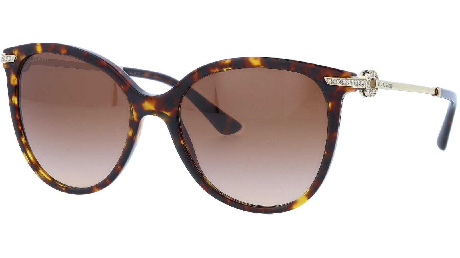 Bvlgari BV8201B 50413 55 Havana Sunglasses
