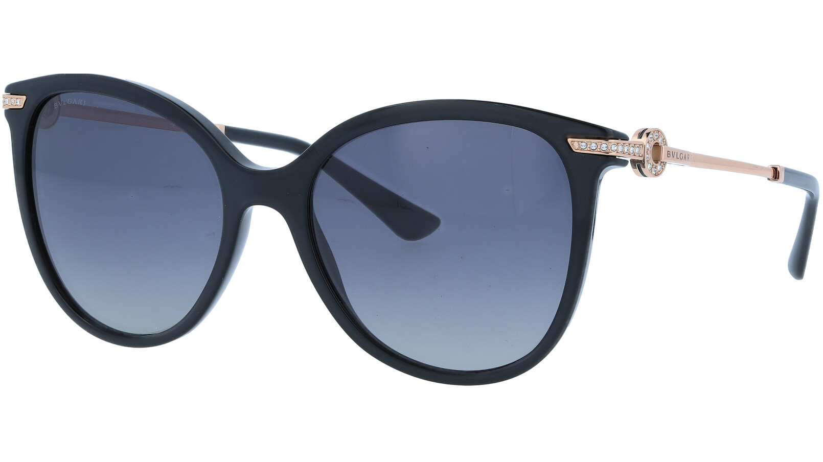 BVLGARI BV8201B 501T33P 55 BLACK Sunglasses