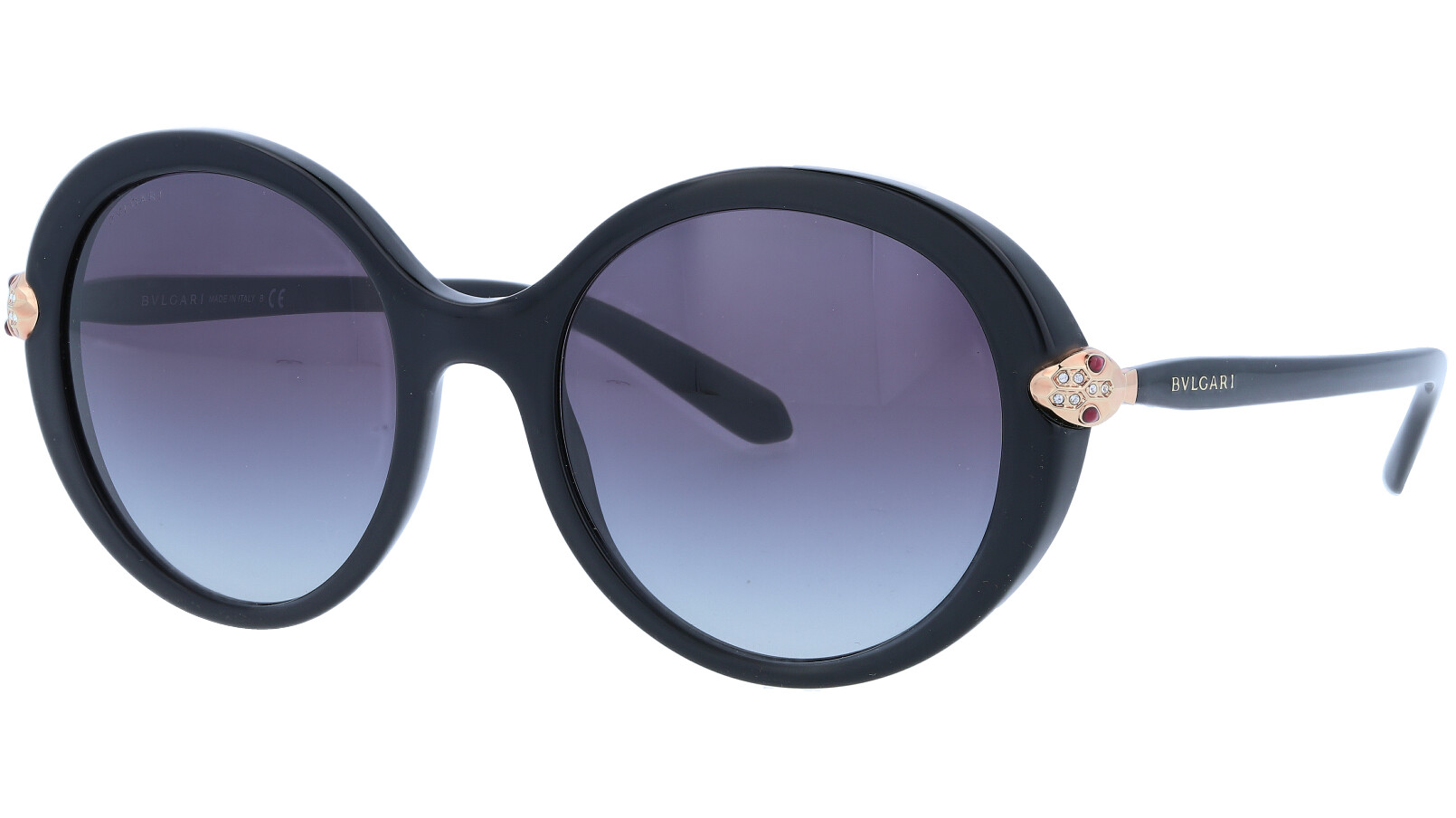 BVLGARI BV8204B 5018G3N 54 BLACK Sunglasses