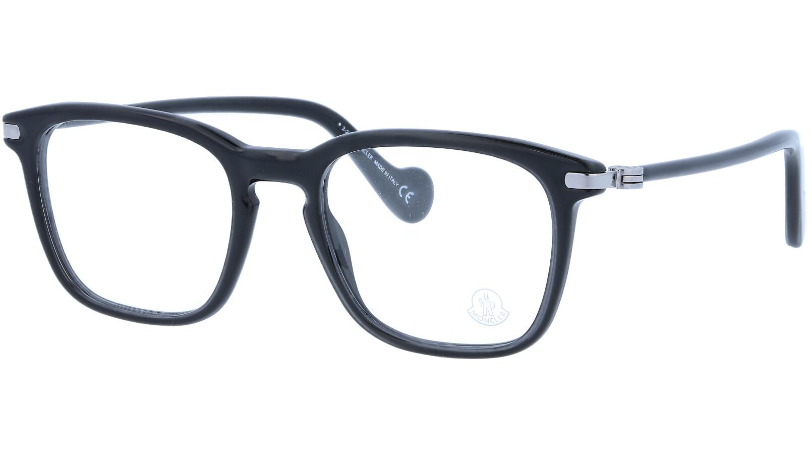 Moncler ML5045V 001 52 Black Glasses