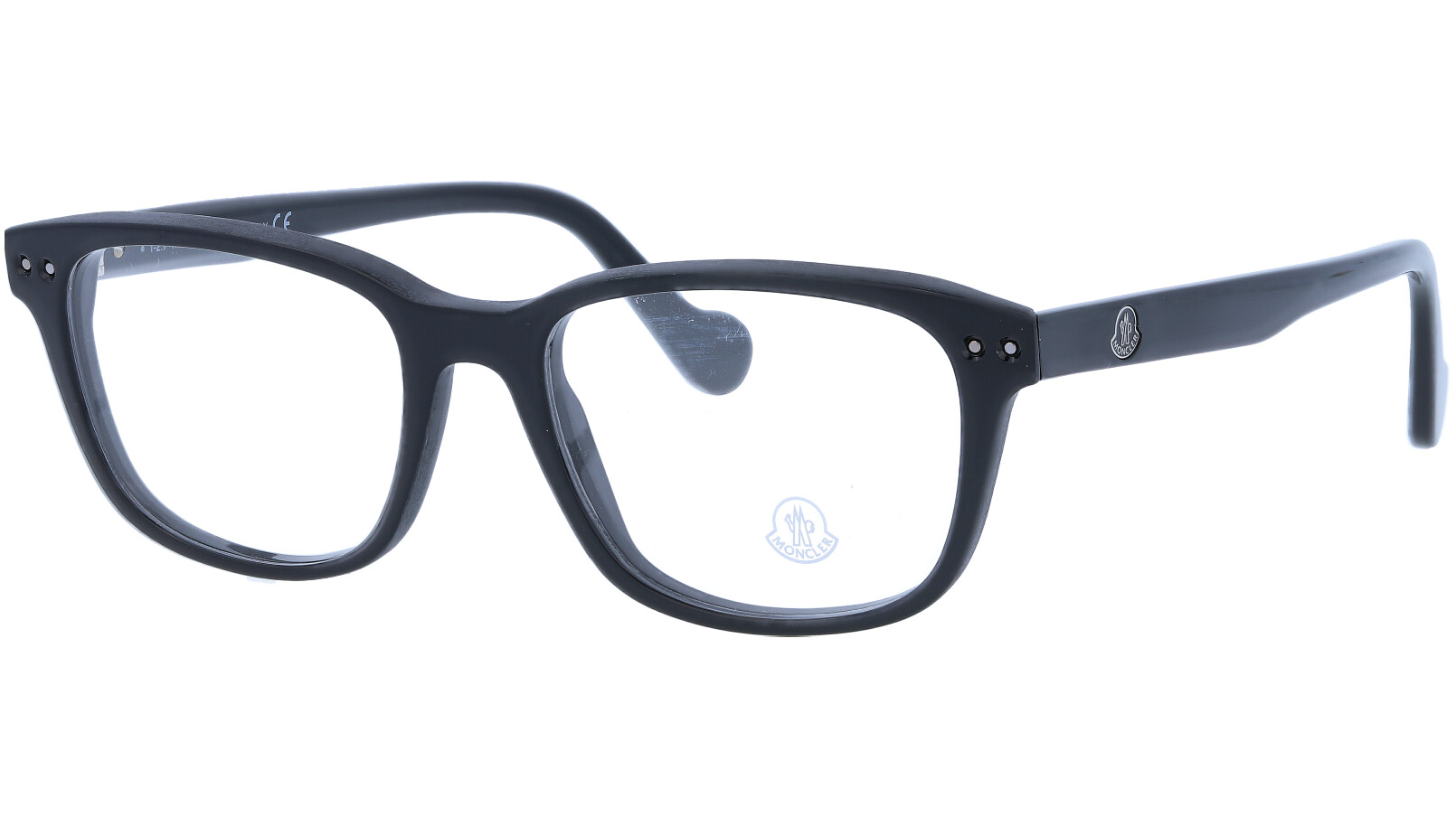 Moncler ML5015V 001 53 Black Glasses
