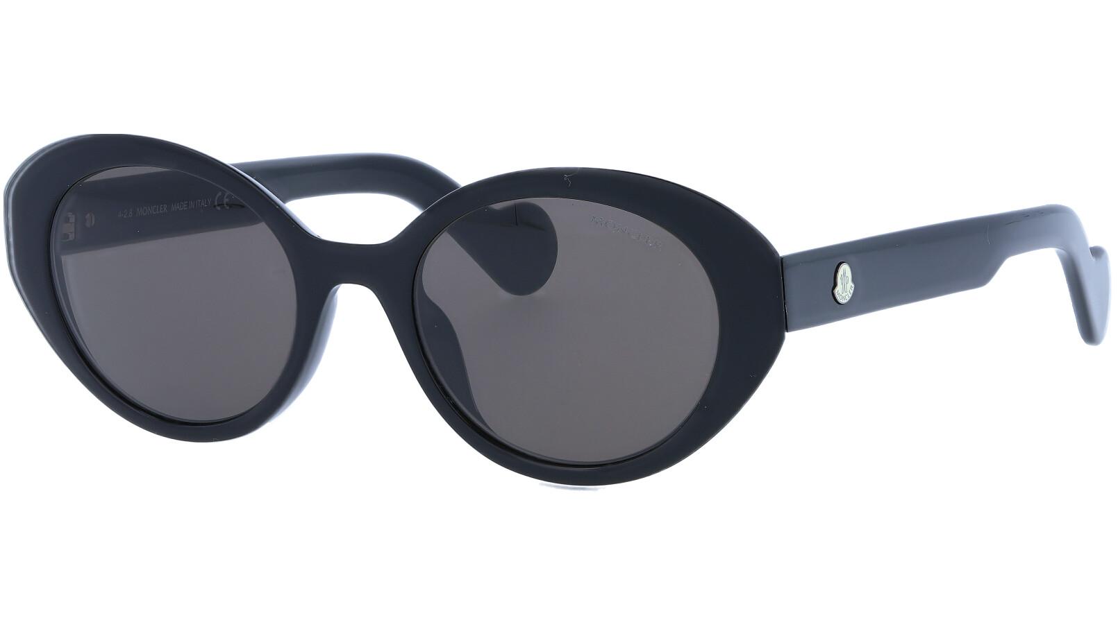Moncler ML0077S 01A 50 Black Sunglasses