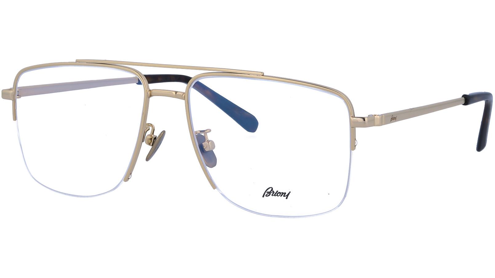 BRIONI BR0053O 002 56 GOLD Glasses