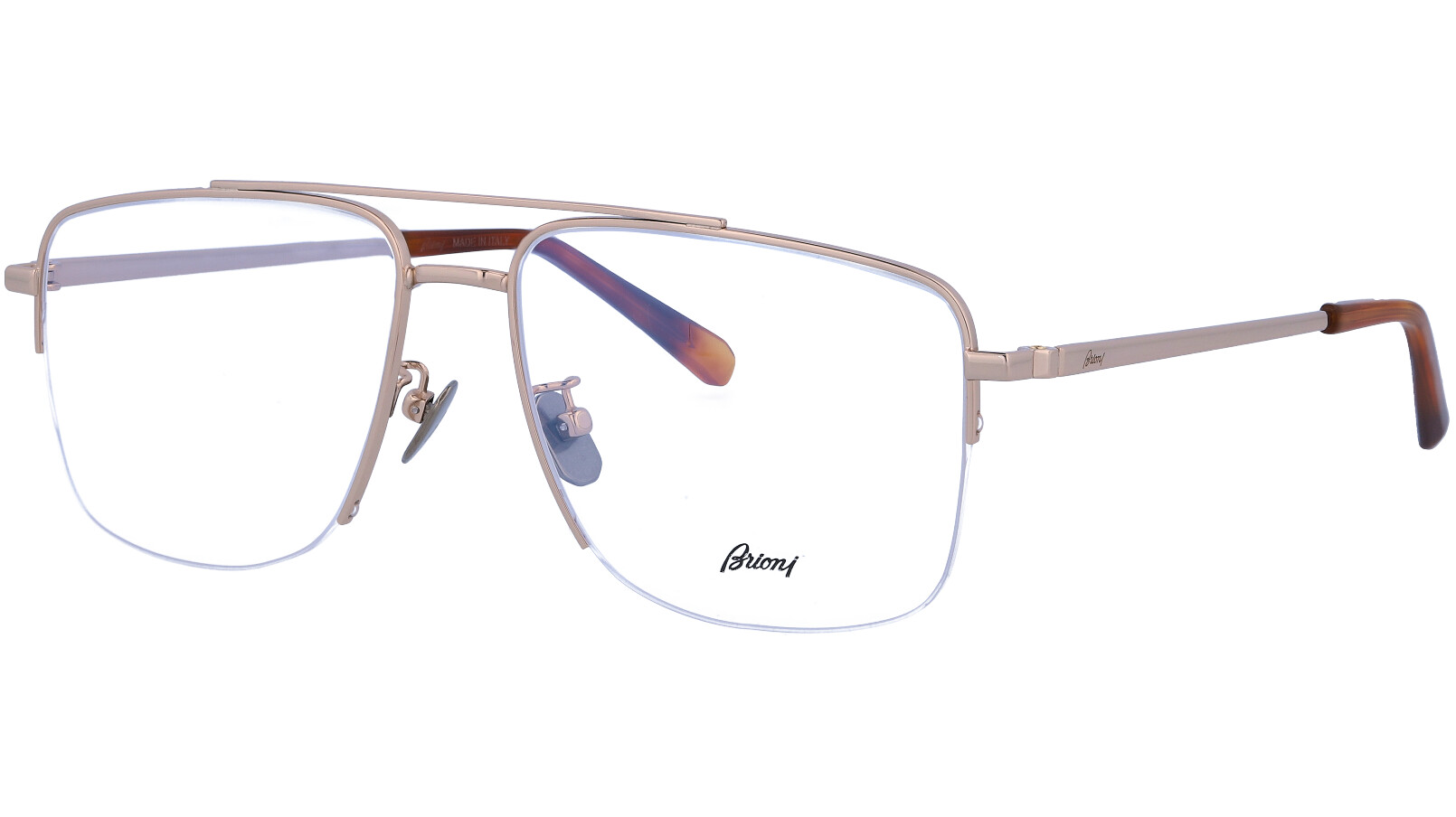 BRIONI BR0053O 004 56 GOLD Glasses