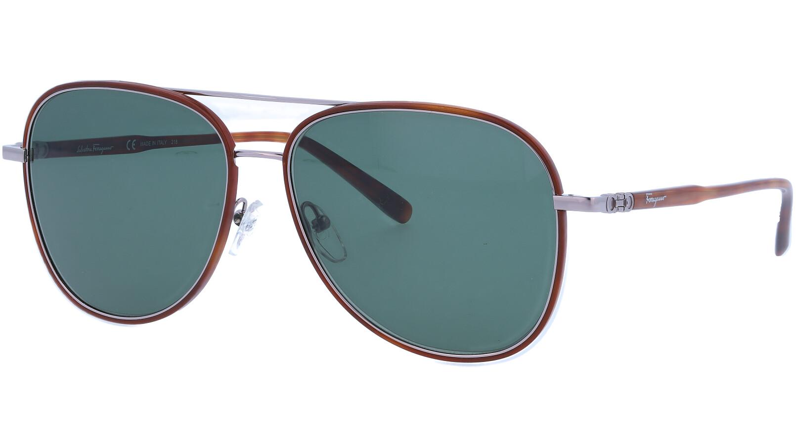 SALVATORE FERRAGAMO SF181S 214 60 TORTOISE Sunglasses