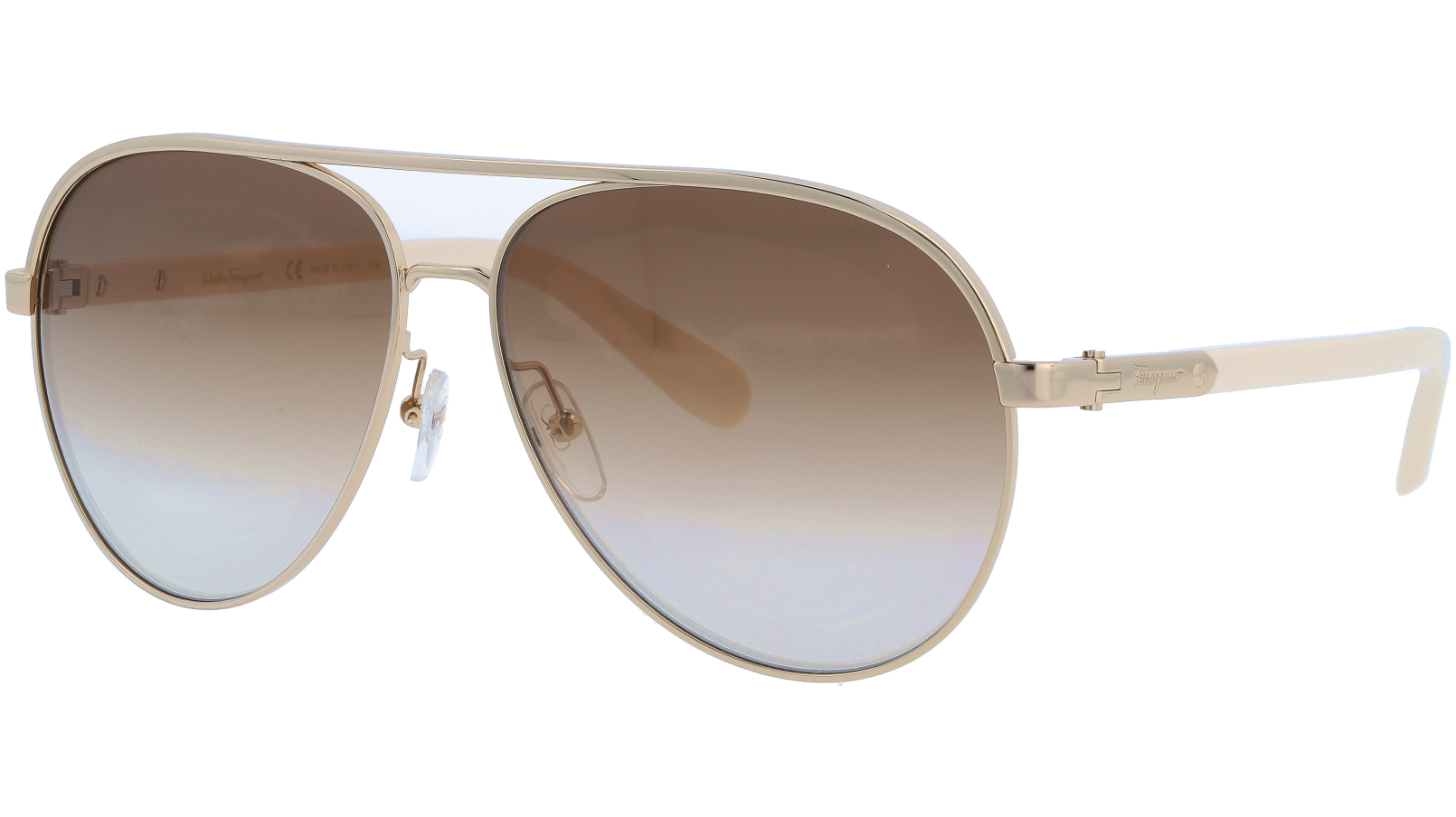SALVATORE FERRAGAMO SF163S 717 60 SHINY Sunglasses