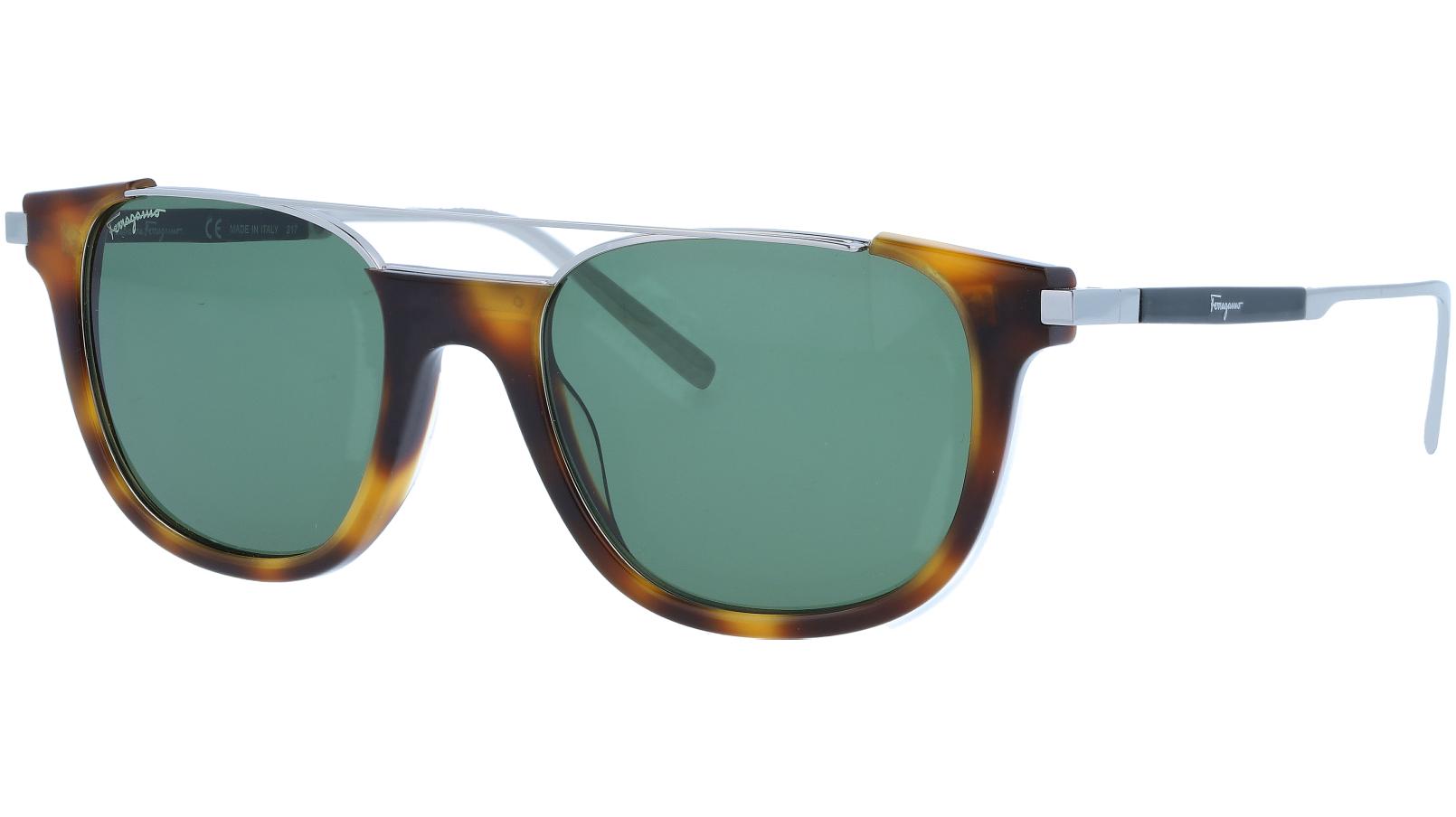SALVATORE FERRAGAMO SF160S 214 52 TORTOISE Sunglasses