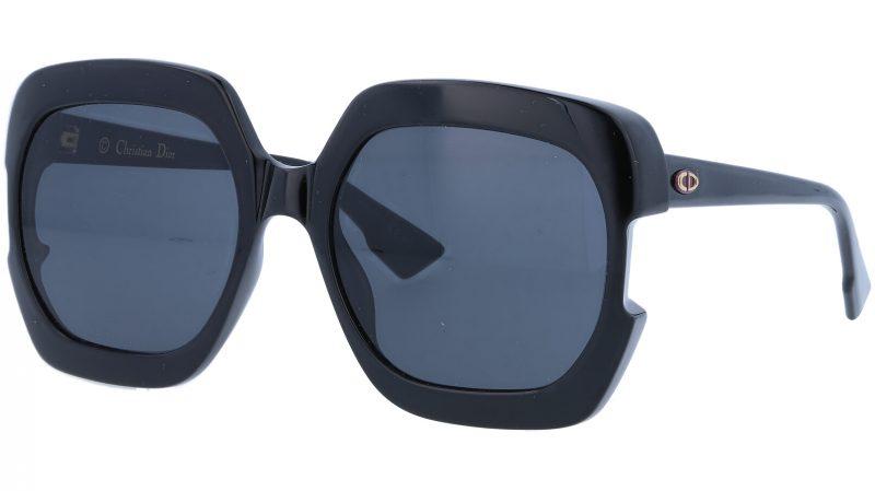 Dior GAIA 807IR 58 Black Sunglasses