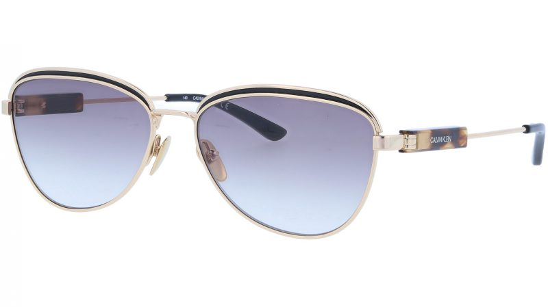 Calvin Klein CK18113S 717 57 Gold Sunglasses