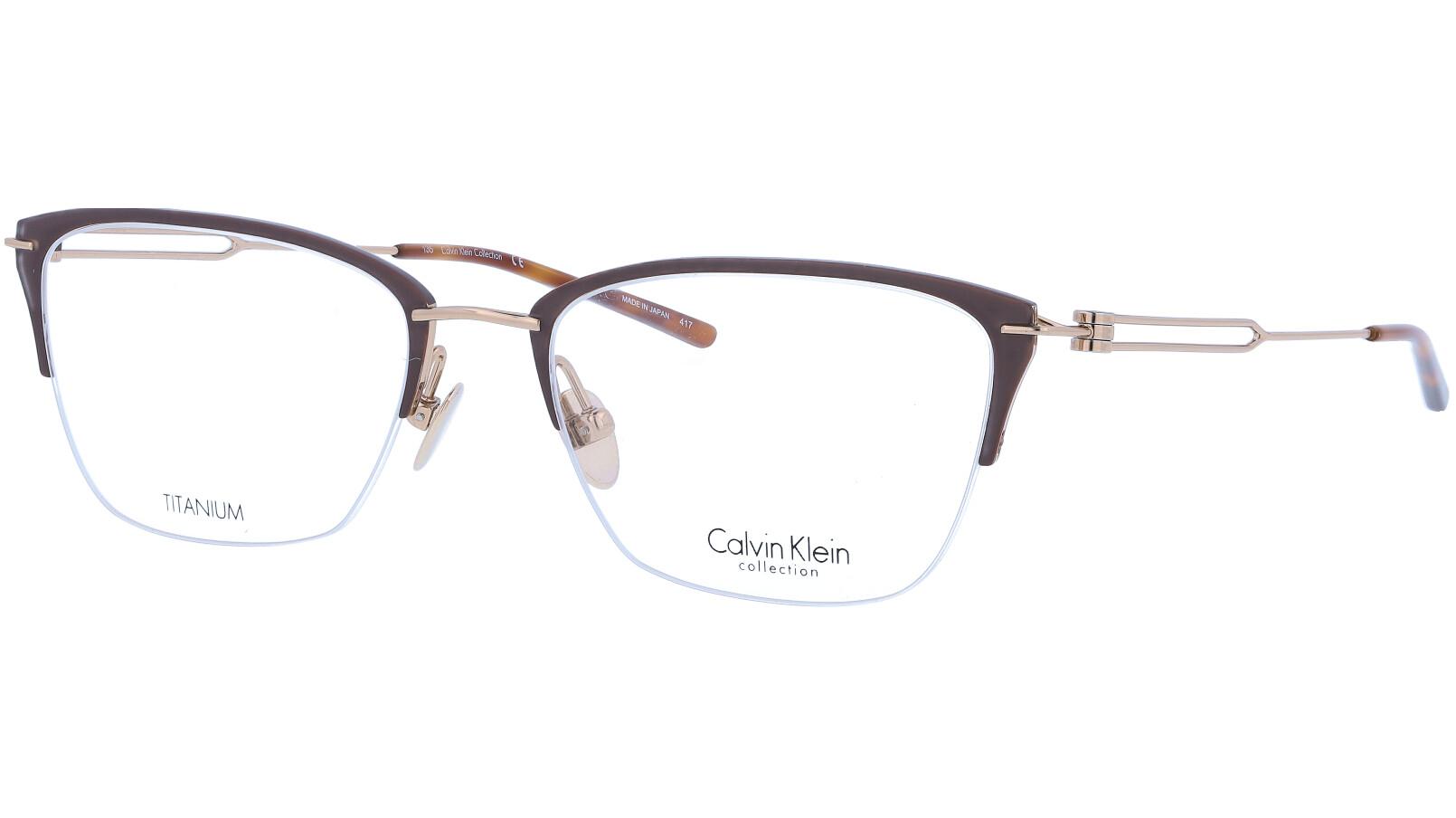 CALVIN KLEIN CK8065 223 52 BROWN Glasses