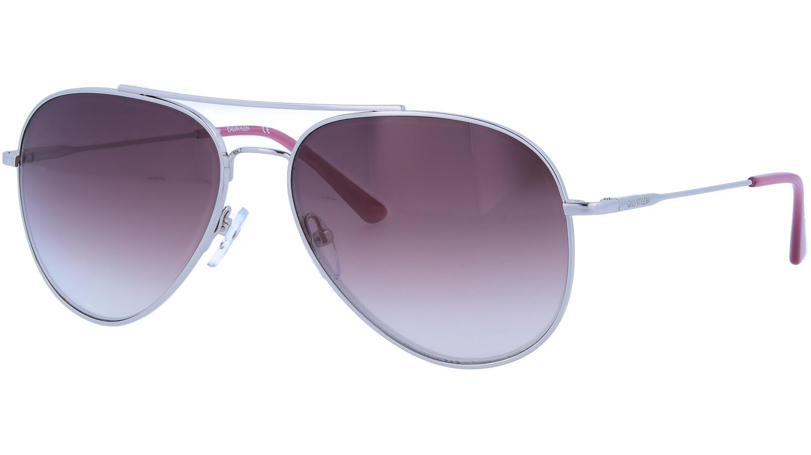 Calvin Klein CK18105S 046 59 Silver Sunglasses