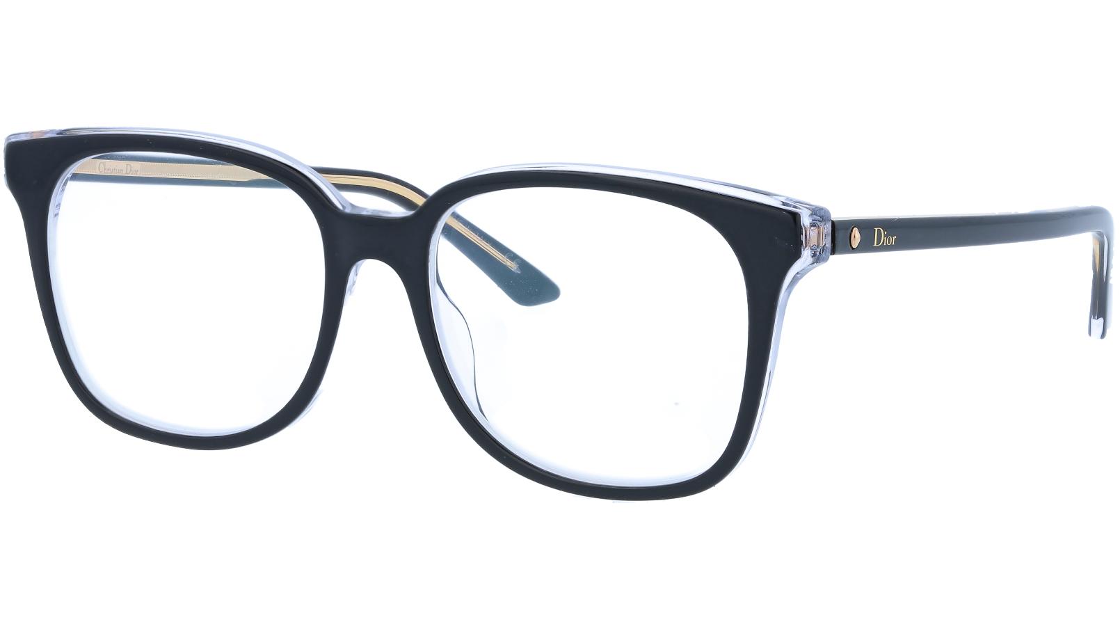 Dior MONTAIGNE26 TKX 53 Black Glasses
