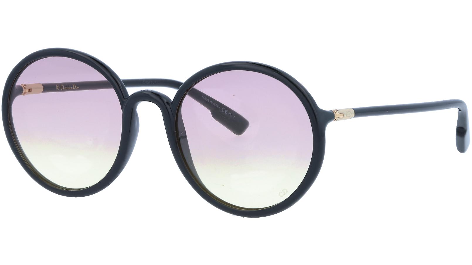 Dior SoStellaire2 807YB 52 Black Sunglasses